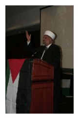 Dr. Sheikh Taiseer Tamimi at Sixth Annual International Al-Awda Convention